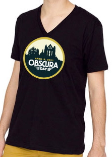Obscura day t-shirt v-neck