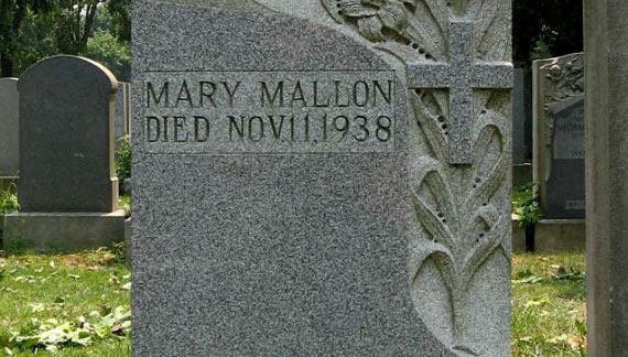 Typhiod Mary's tombstone - Atlas Obscura