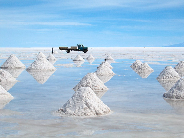 Salar de Uyuni - Bolivia - Saltiest Places on Earth - Atlas Obscura