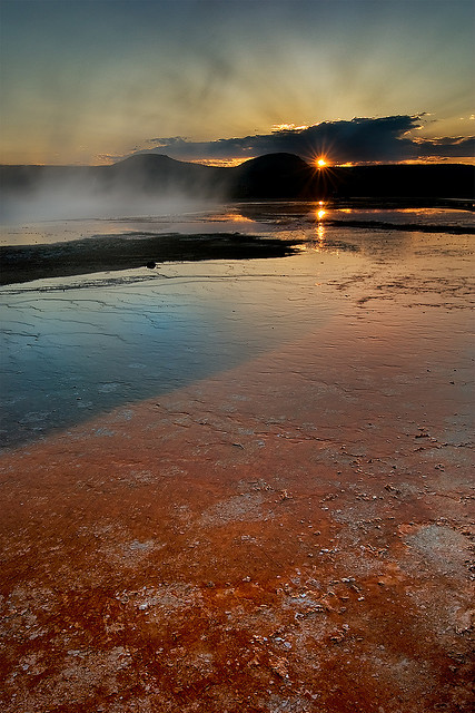 Yellowstone Basin Sunset - Atlas Obscura Blog Pictures